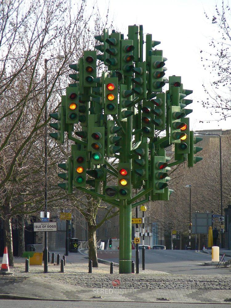 Semafor London. Foto: (C) Milos Majko